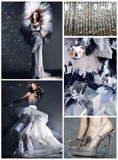 glitter wedding style