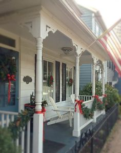 Loving this Front Porch in Old Town Alexandria, VA BuyersAgent.com DC, MD, VA