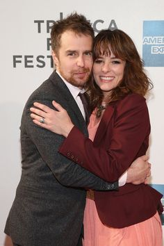From the way back movie -  Parker Posey and Sam Rockwell at event of A Single Shot