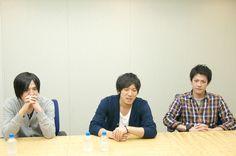 インタビューに応えるback numberの3人(左から小島和也、清水依与吏、栗原寿)。