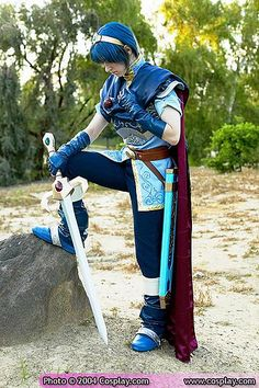 fire emblem cosplay by zachy sweet, via Flickr