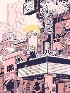 Spider Gwen for Mondo (illustration) — Rosemary Valero-O'Connell