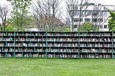 Un sogno: biblioteca a cielo aperto.
