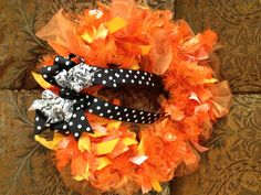 Amy Molley's Halloween Wreath