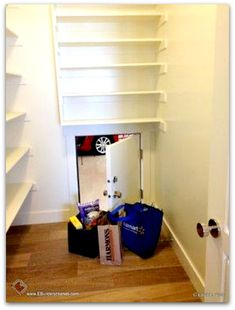 Add a pantry door from the garage for groceries