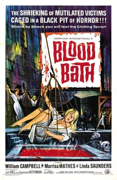 Blood Bath (1966) also known as Track of the Vampire