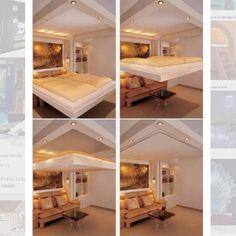 #DicaDaRo => Essa cama incrível pode ser elevada liberando o ambiente para…