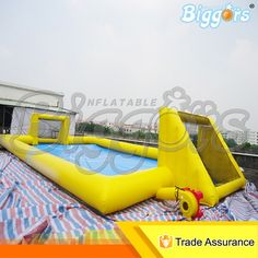 (2709.40$)  Watch here  - Popular Giant Inflatable Soap Water Soccer Field Pitch for Sale