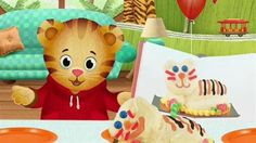 Could try to make a Daniel Tiger cake like the one Daniel had for his birthday...the Wilton lamb pan might work perfectly.