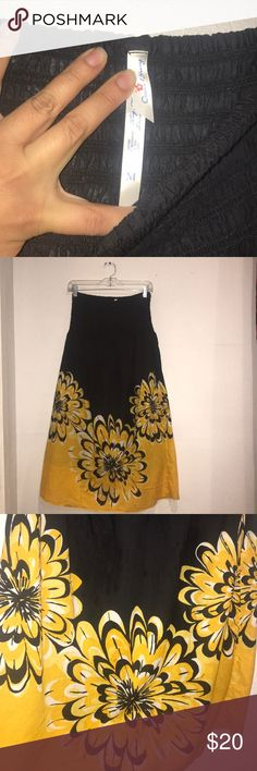 Black and yellow strapless dress size medium GUC. Black strapless dress with yellow flowers size medium... Bundle & Save ...Please ask questions....#3 Dresses Strapless