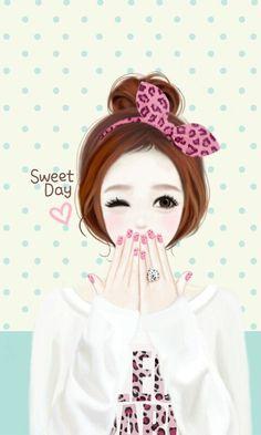 ... , Wallpapers, Korean Girls, Anime Art, Anime Girls, People, Drawing