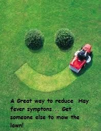 Hay fever hints and tips.
