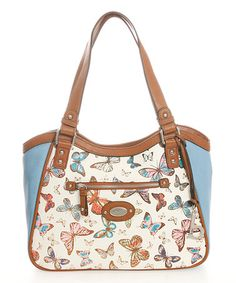 Loving this Sky Butterfly Tote on #zulily! #zulilyfinds
