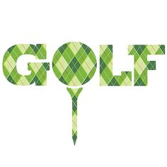 Golf argyle style plaid tee graphic logo. Designed by www.sarahtrett.com #golf #golfing #golftee #teeoff