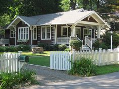 I love everything about American bungalows....