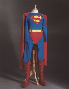 Christopher Reeve's costume from the 1978 Superman movie.