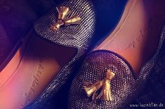 """Chatelles """"Roméo"""" with """"Oscar gold"""" tassels. ♥"""