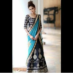 MAHEK BLUE LAHENGA  PRODUCT INFO : LEHNGA - ZARI EMBROIDERY WORK ON BANGLORY SILK BLOUSE- ZARI EMBROIDERY WORK ON BANGLORY SILK DUPATTA- EMBROIDERY WORK WITH PATCH BUTA ON NET  Price : 3200 INR Only ! #Booknow  CASH ON DELIVERY Available In India ! Shipping Charges Extra  World Wide Shipping Available ! ✈ PayPal / WU Accepted  Free Shipping On Prepaid Shipment In India  Stitching Service Available  To order / enquiry  Contact Us : +91 9054562754 ( WhatsApp ..