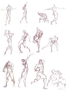 Lifedrawing 1 minute Poses, Sketchbook , with thanks to sharackula, Resources for Art Students CAPI ::: Create Art Portfolio Ideas at milliande.com , Art School Portfolio Work