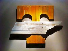 University Of Tennessee Vols Power T Wood Decor by gdaykreations