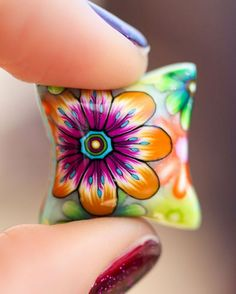 30 easy diy polymer clay beads ideas (4)