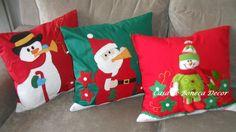 Almofadas natalinas www.casadebonecadecor.com.br