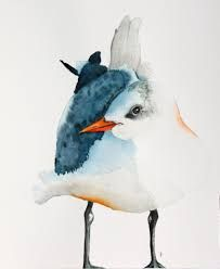 Image result for watercolor birds paintings