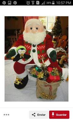 Christmas Stockings, Christmas Ornaments, Elf On The Shelf, Ronald Mcdonald, Diy, Teddy Bear, Dolls, Holiday Decor, Crochet