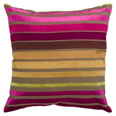 I pinned this Seton Pillow in Magenta from the A Punch of Summer event at Joss and Main!