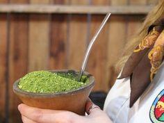 Saiba como preparar um bom chimarrão (Foto: Fernando Lopes/G1)