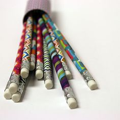 These would be a great stocking stuffer! Jonathan Adler Assorted #2 Pencils - UrbanGirl
