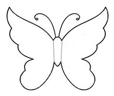 Butterfly template - could use with folded paper printmaking Papillon clipart cute butterfly outline - pin to your gallery. Explore what was found for the papillon clipart cute butterfly outlinefree stencils printable cut outButterfly Coloring Pages For K Butterfly Quilt, Butterfly Template, Butterfly Crafts, Flower Template, Butterfly Art, Crown Template, Butterfly Mobile, Heart Template, Butterfly Stencil