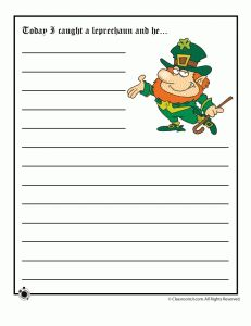 St. Patricks Day Story Starters - - Pinned by #PediaStaff.  Visit http://ht.ly/63sNt for all our pediatric therapy pins