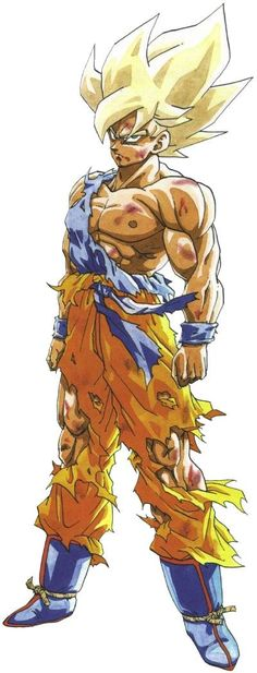 Todas las transformaciones de Goku