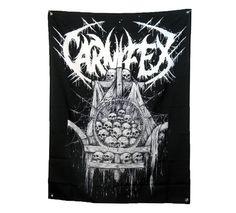 CARNIFEX (Riddick Skulls) Banner/Flag 3' X 4'