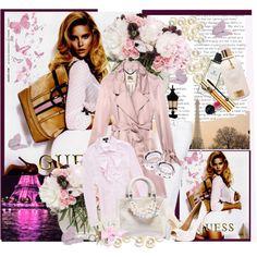 Love the pink coat