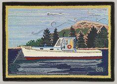 Melina White: Hand Hooked Rugs for Contemporary Homes-Maine Coast Handmade Rugs2