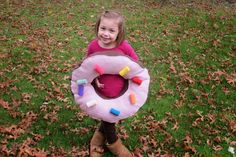 DIY Donut Costume - Through the Eyes of the Mrs.