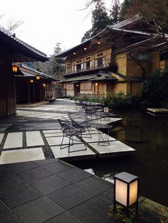 Hoshinoya, Kyoto, Japan - one of the most beautiful hotels I've ever stayed in.