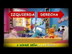 Video for teaching difference between izquierda and derecha