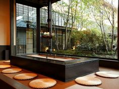 """Irori""  Japanese-style hotel.  Kusatsu, Gunma, Japan"
