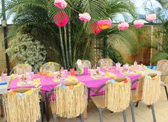 Hawaiian Luau Birthday Party Ideas | Photo 35 of 35 | Catch My Party