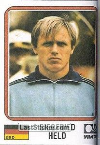 Sticker 103: Siegfried Held - Panini FIFA World Cup Munich 1974 - laststicker.com