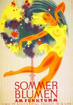Berlin Werbeplakat, 1943