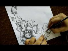 pencil sketch drawing flower greeting sketches easy cards drawings welcome