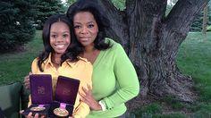 Oprah interviews Gabby Douglas