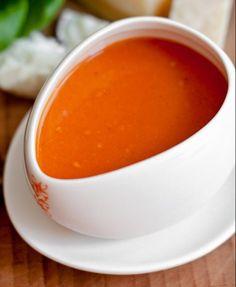 Einfache Tomatensuppe mit Dosentomaten von Jamie Oliver | Nur 5 Zutaten