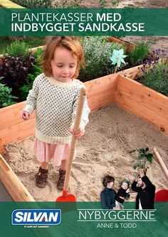 plantekasser med indbygget sandkasse NYBYGGERNE Anne & Todd