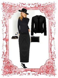 dress up's Monday - black