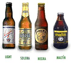 Cervezas y Malta